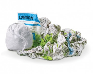Crumpled Maps – Maps you can crumple