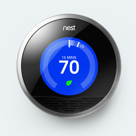 Nest Thermostat – Temperature control just turned cool