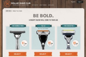 Dollar Shave Club – Keep clean, keep shaved